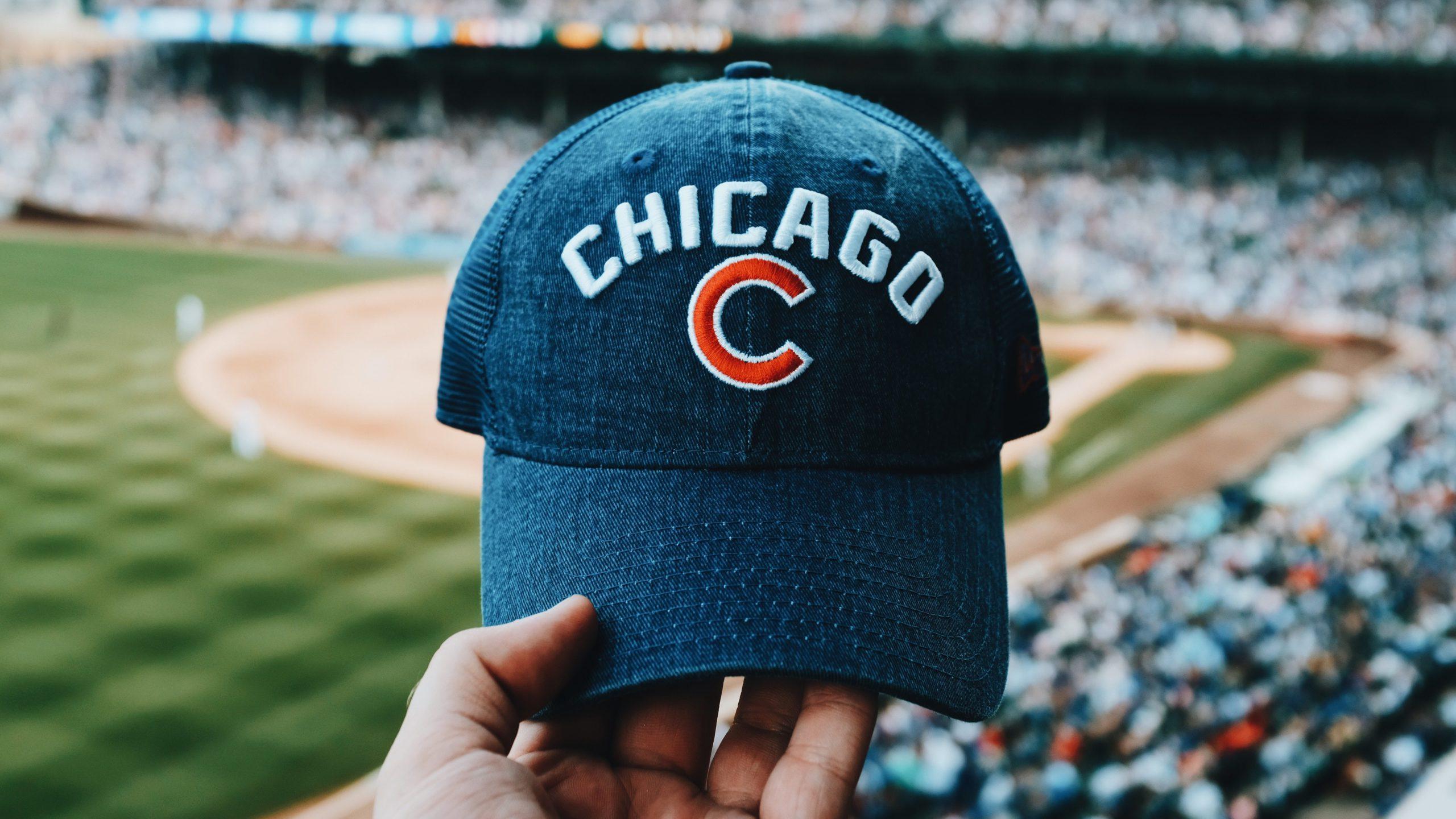 Chicago Cubs baseball hat