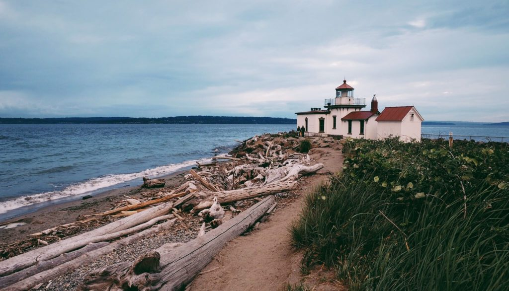 West Point Lighthouse in Washington State