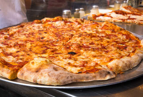New Jersey style cheese pizza